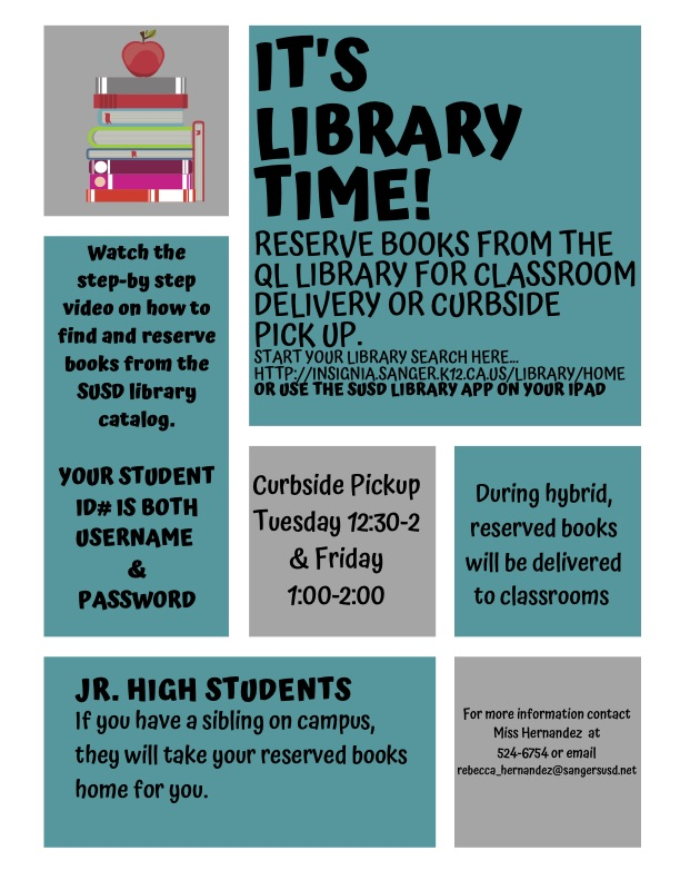 it's library time information
