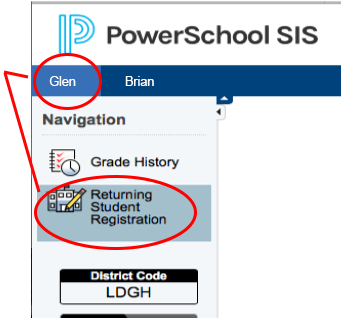 powerschool screen